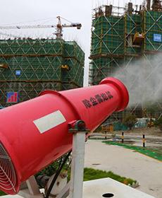 30米雾炮机实景案例