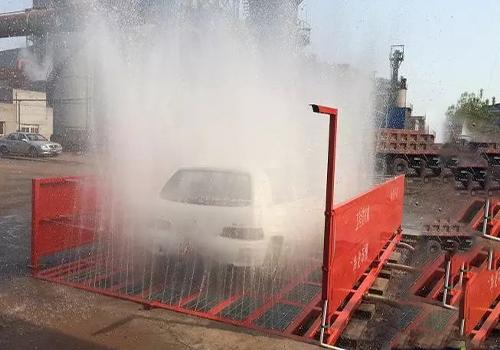 工地洗車機工作實拍